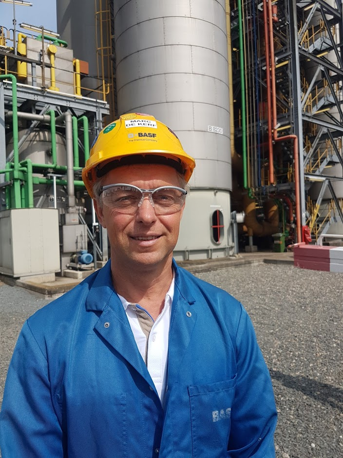 Marc De Kerf is global expert asset & maintenance manager bij BASF